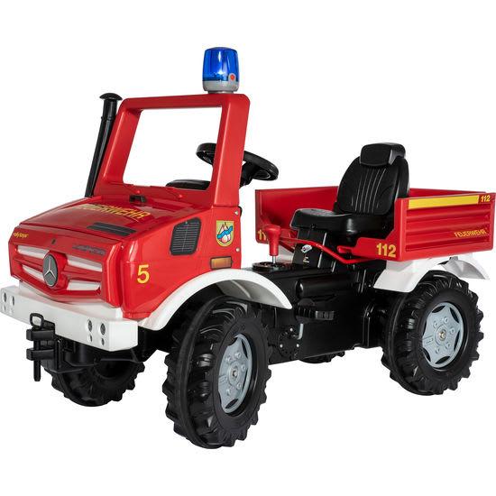 rolly® toys rollyUnimog Fire 038220, mit Blaulicht
