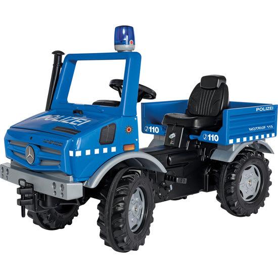 rolly® toys rollyUnimog Polizei 038251, mit Blaulicht