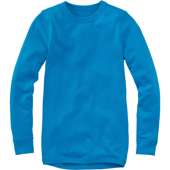 Kinder Thermo-Langarmhemd Frottee FIT-Z, unisex