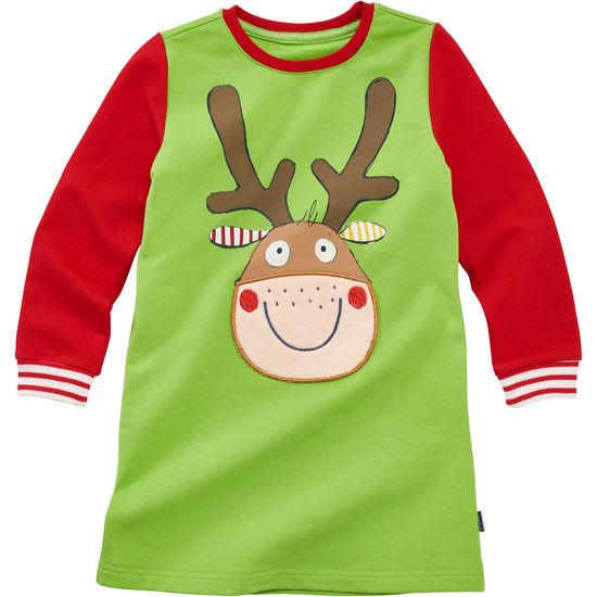 Mädchen Weihnachtskleid Elch JAKO-O