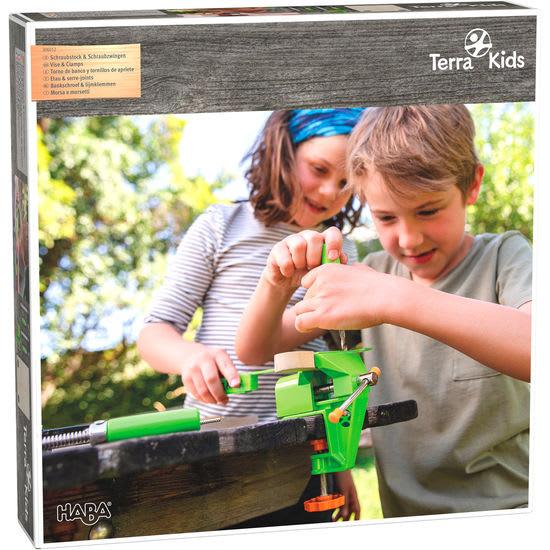 Terra Kids Schraubstock & Schraubzwingen HABA 306012