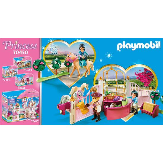 PLAYMOBIL® Princess 70450 Reitunterricht im Pferdestall