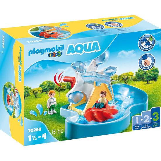 PLAYMOBIL® 1.2.3 AQUA 70268 Wasserrad mit Karussell