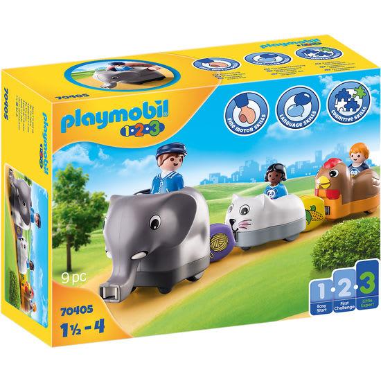 PLAYMOBIL® 1.2.3 70405 Mein Schiebetierzug