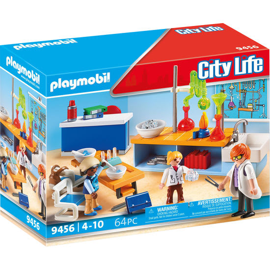 PLAYMOBIL® City Life 9456 Chemieunterricht