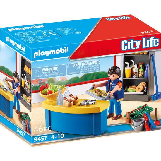 PLAYMOBIL® City Life 9457 Hausmeister mit Kiosk