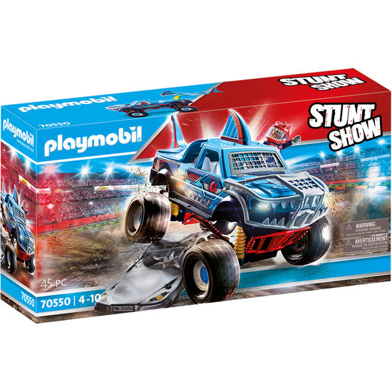 PLAYMOBIL® Stuntshow 70550 Stuntshow Monster Truck Shark