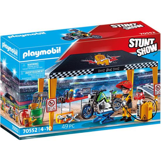 PLAYMOBIL® Stuntshow 70552 Stuntshow Werkstattzelt