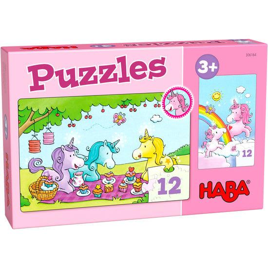 Puzzles Einhorn Glitzerglück – Rosalie & Friends HABA 306164