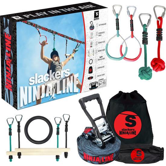slackers® Ninja Line™ Starter-Set, 12-teilig