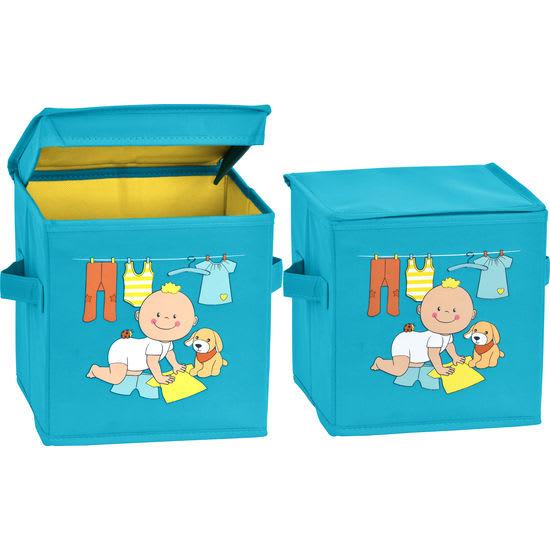 Puppen-Zubehör-Box JAKO-O, 2 Stück