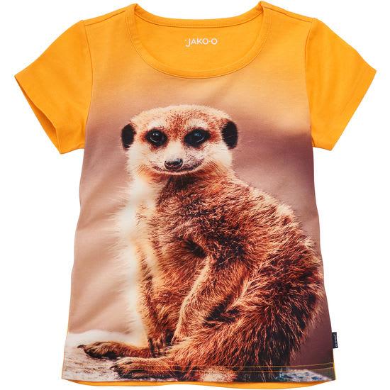 T-Shirt für Mädchen mit Fotoprint Jersey JAKO-O