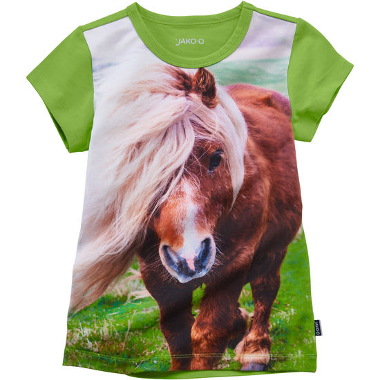 Kinder T-Shirt Fotodruck Pferd JAKO-O