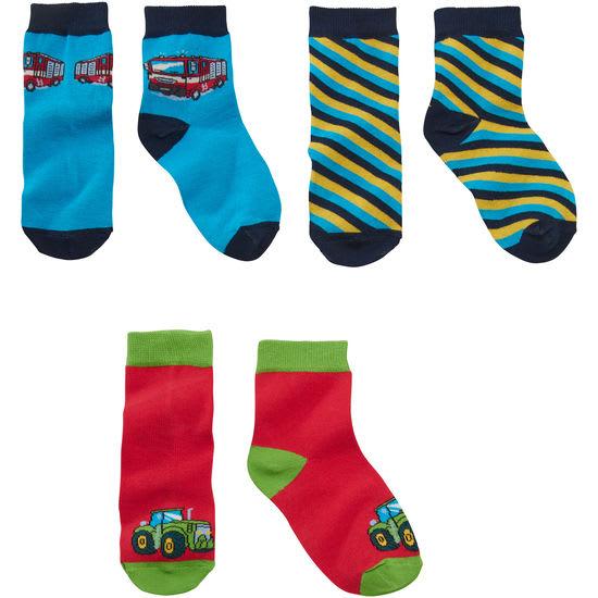 Kinder Socken mit Motiv JAKO-O, 3er-Pack