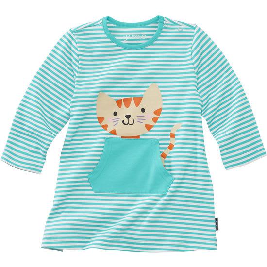 Baby Mädchen Kleid JAKO-O mit Tasche und Motiven