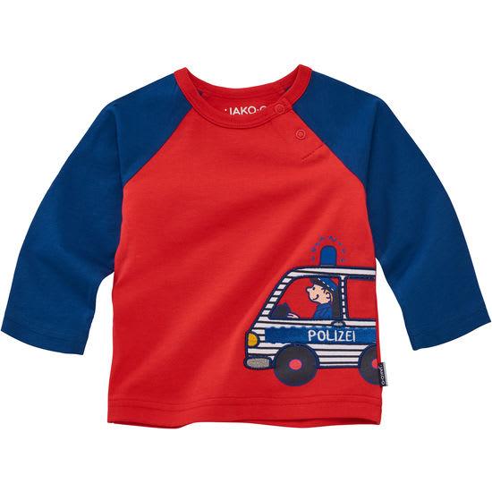 Langarmshirt Kinder JAKO-O, mit Fahrzeugmotiv
