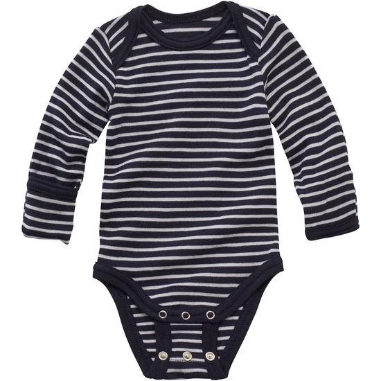 Baby Langarmbody Wolle Seide JAKO-O Mitwachs-Body