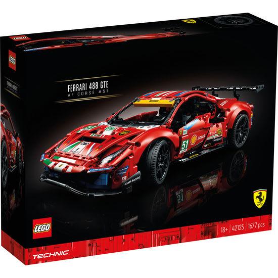 LEGO® Technic 42125 Ferrari 488 GTE