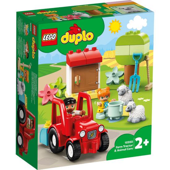 LEGO®DUPLO® 10950 Traktor und Tierpflege