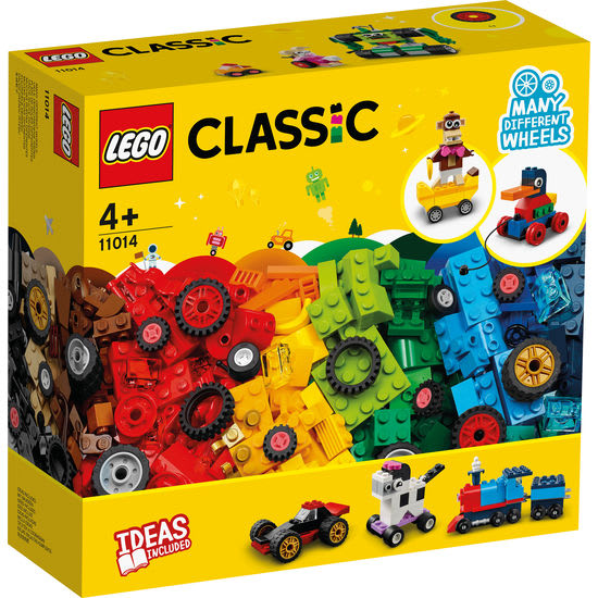 LEGO® Classic 11014 Steinebox mit Rädern