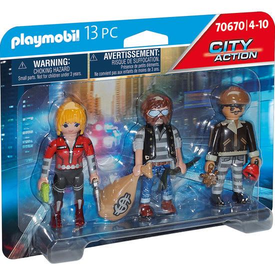 PLAYMOBIL® City Action 70670 Figurenset Ganoven