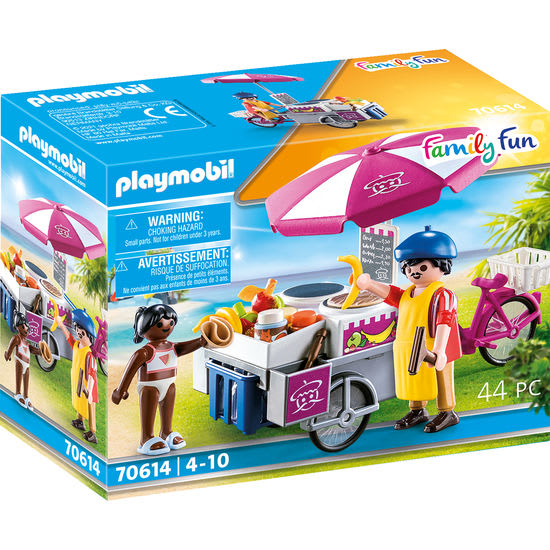 PLAYMOBIL® Family Fun 70614 Mobiler Crêpes-Verkauf