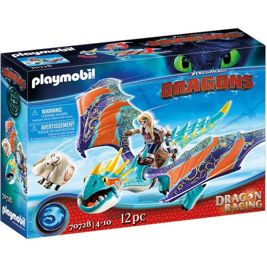 PLAYMOBIL® Dragons 70728 Dragon Racing: Astrid und Sturmpfeil