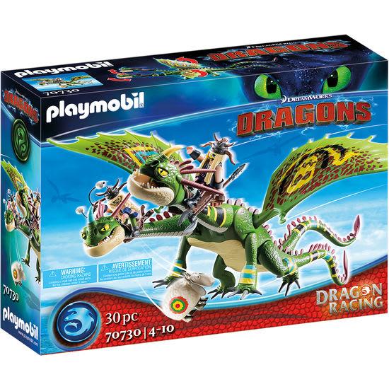 PLAYMOBIL® Dragons 70730 Dragon Racing: Raffnuss und Taffnus