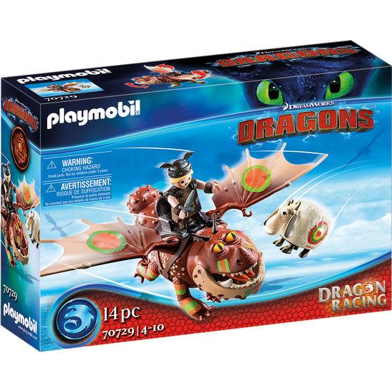 PLAYMOBIL® Dragons 70729 Dragon Racing: Fischbein und Fleischklops