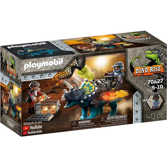 PLAYMOBIL® DINO RISE 70627 Triceratops: Randale um die legendären Steine