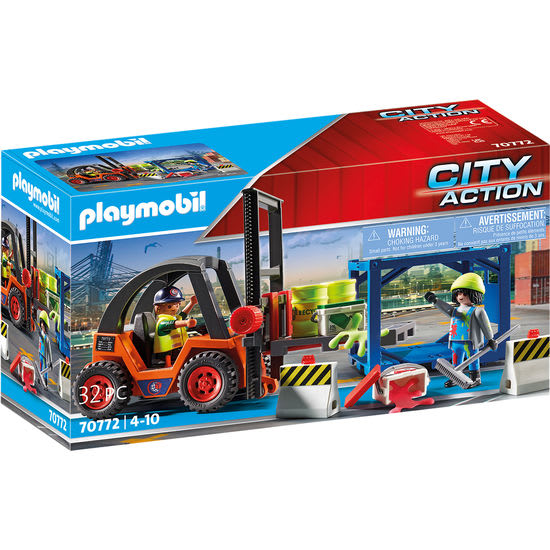 PLAYMOBIL® City Action 70772 Gabelstapler mit Fracht