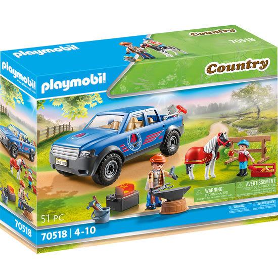 PLAYMOBIL® Country 70518 Mobiler Hufschmied