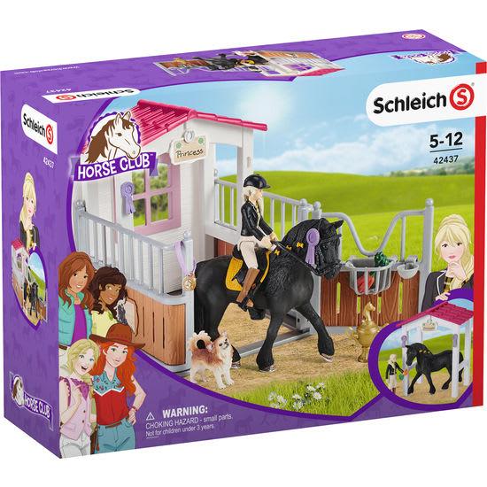 Schleich<sup>®</sup> Horse Club 42437 Pferdebox mit Tori und Princess