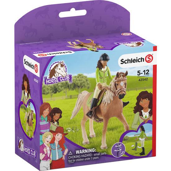 Schleich<sup>®</sup> Horse Club 42542 Sarah & Mystery