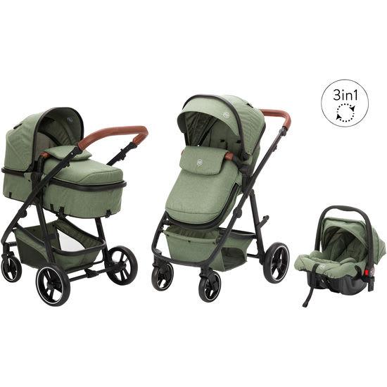 fill Kinderwagen Set Panther Elite, mit Babyschale