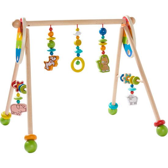 Baby-Spieltrainer Bauernhof JAKO-O, aus Holz