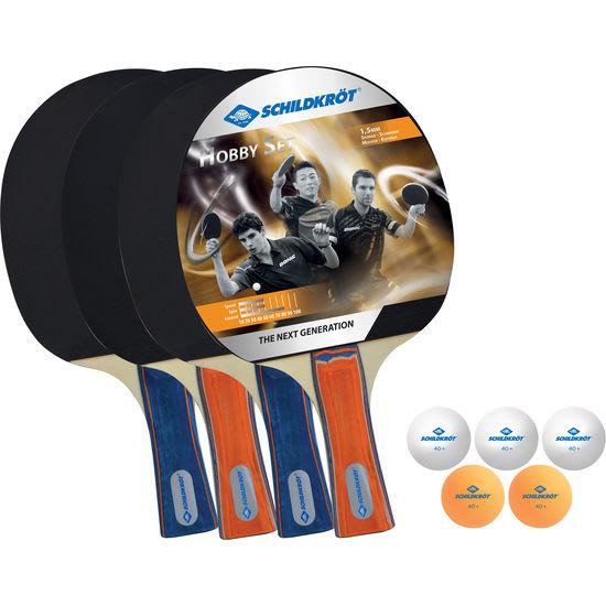 DONIC SCHILDKRÖT<sup>®</sup> Tischtennis-Schläger Set, 9-teilig