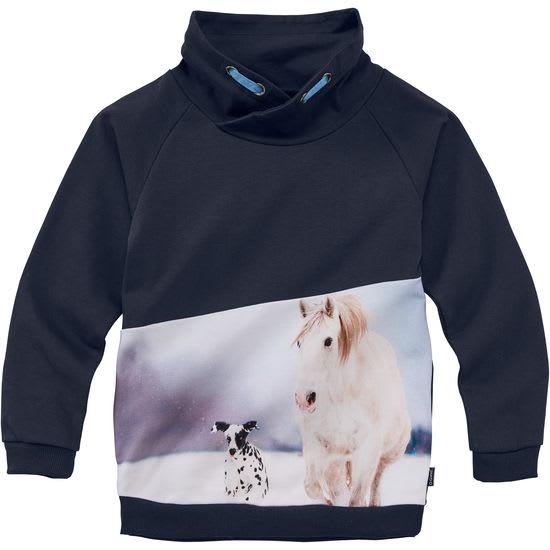 Kinder Sweatshirt Stehkragen Fotoprint JAKO-O