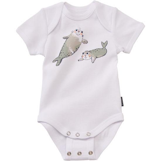 Baby Mitwachs-Body JAKO-O, Halbarmbody kurzarm