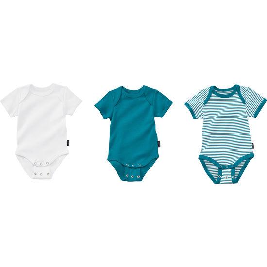 Baby Mitwachs-Body JAKO-O, Halbarmbody kurzarm 3er-Set