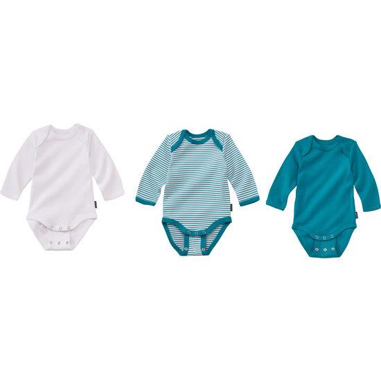 Baby Mitwachs-Body JAKO-O, Langarmbody 3er-Set