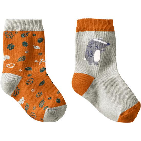 Baby Socken Wald Motive JAKO-O, 2er-Pack