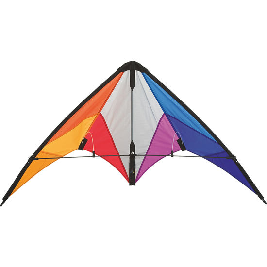 HQ Lenkdrache Calypso II Rainbow, 59 x 110 cm