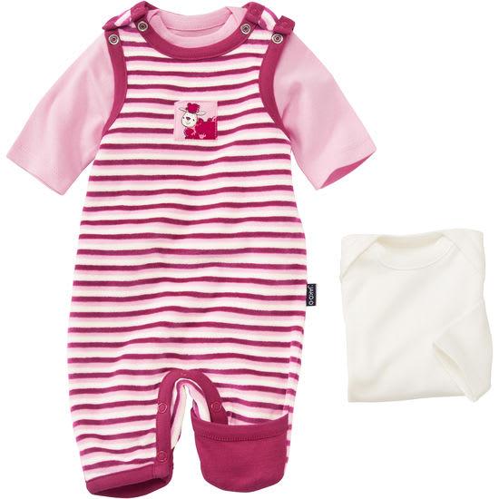 Baby Set 3-teilig: Nicki, Strampler, Langarmshirt JAKO-O