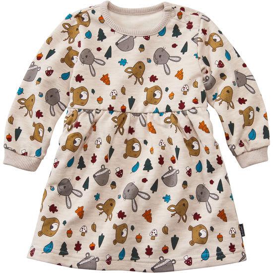 Baby Sweatkleid mit Allover-Print JAKO-O