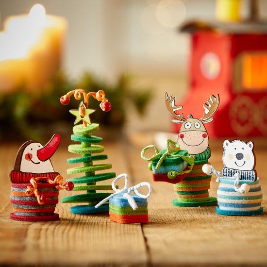 Sachenmacher Filzfädelinge Weihnachtsfreunde