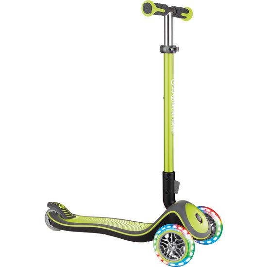 GLOBBER Kinder Scooter Elite Deluxe Lights, klappbar