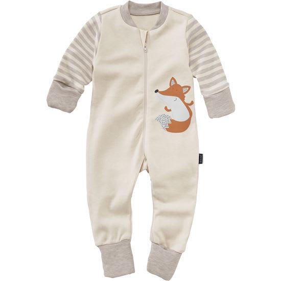 Baby Schlafoverall Interlock JAKO-O, mit Klappbündchen