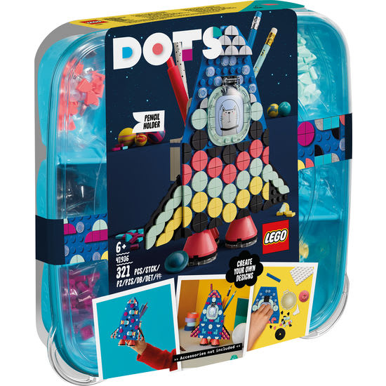 LEGO® DOTs 41936 Raketen Stiftehalter