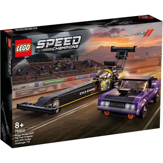 LEGO® Speed Champions 76904 Mopar Dodge//SRT Dragster & 1970 Dodge Challenger